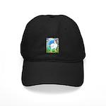 Opal Cornish Rooster Black Cap
