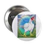 """Opal Cornish Rooster 2.25"""" Button"""