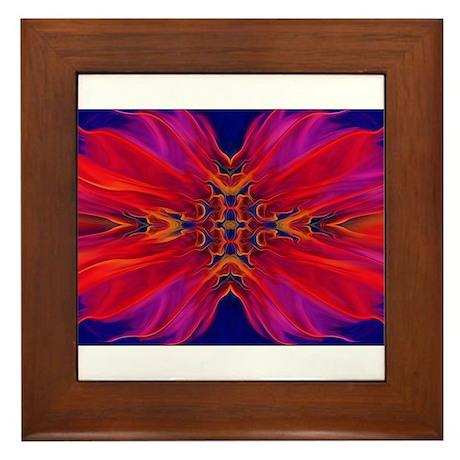 Luminous blossom Framed Tile