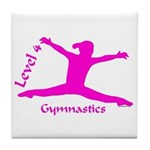 Gymnastics Tile Coaster - Level 4