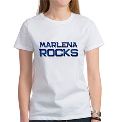 marlena rocks Women's T-Shirt