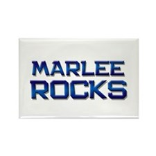 marlee rocks Rectangle Magnet