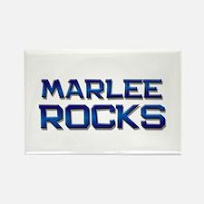 marlee rocks Rectangle Magnet