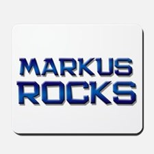 markus rocks Mousepad
