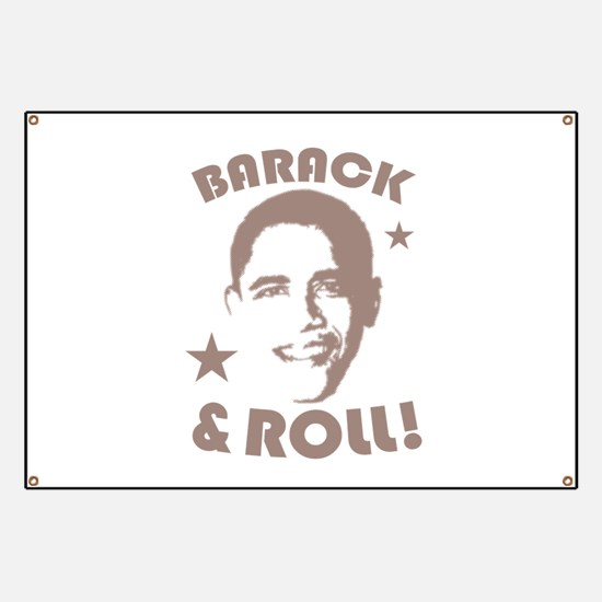 Cute Funny obama Banner