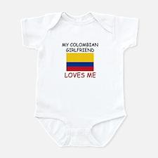 My Colombian Girlfriend Loves Me Infant Bodysuit