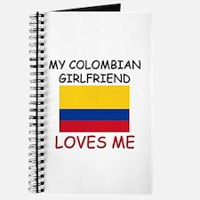 My Colombian Girlfriend Loves Me Journal