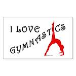 Gymnastics Sticker - Love