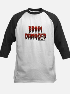 Brain Damaged Kids Baseball Jersey