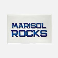marisol rocks Rectangle Magnet