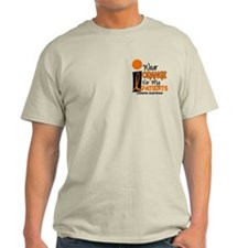 I Wear Orange 9 (Patients) LEUK T-Shirt
