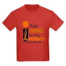 I Wear Orange 9 (Patients) LEUK T