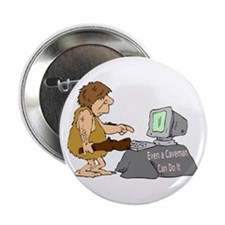 "Caveman 2.25"" Button"