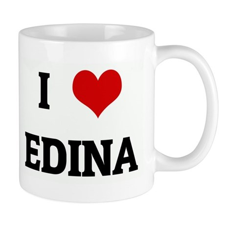 I Love EDINA Mug