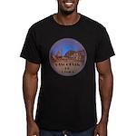 Vancouver BC Souvenir Men's Fitted T-Shirt (dark)