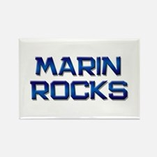 marin rocks Rectangle Magnet