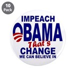 "Impeach Obama 3.5"" Button (10 pack)"