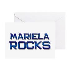 mariela rocks Greeting Card