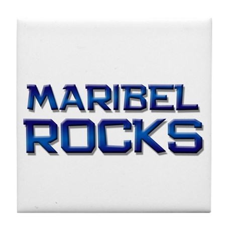 maribel rocks Tile Coaster