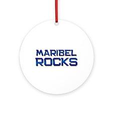 maribel rocks Ornament (Round)