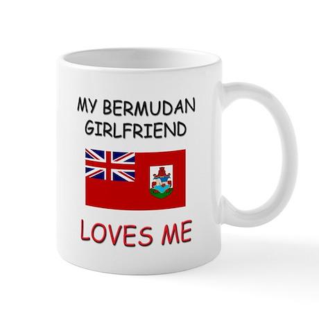 My Bermudan Girlfriend Loves Me Mug