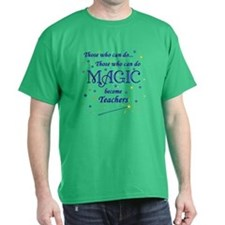 Those Who Can Do Magic Kelly Green T-Shirt