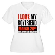 I Love My Boyfriend - Celebra T-Shirt