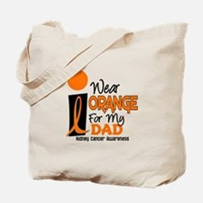 I Wear Orange For My Dad 9 KC Tote Bag