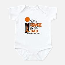 I Wear Orange For My Dad 9 KC Infant Bodysuit