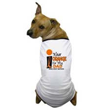 I Wear Orange For My Dad 9 KC Dog T-Shirt