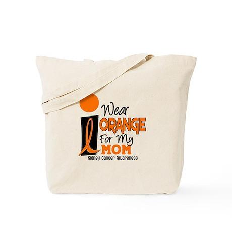 I Wear Orange For My Mom 9 KC Tote Bag