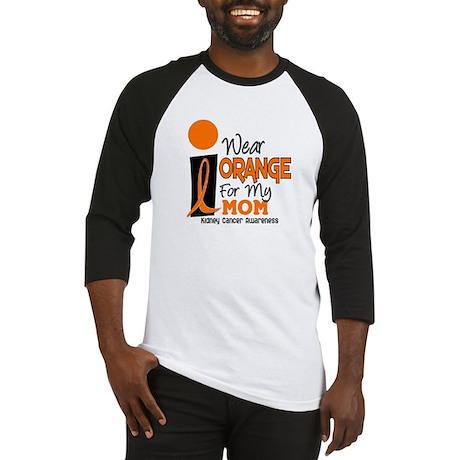 I Wear Orange For My Mom 9 KC Baseball Jersey