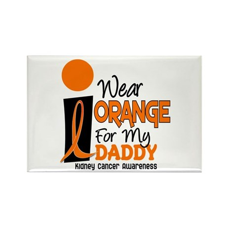 I Wear Orange For My Daddy 9 KC Rectangle Magnet