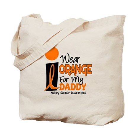I Wear Orange For My Daddy 9 KC Tote Bag
