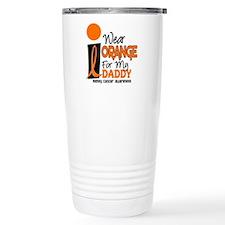 I Wear Orange For My Daddy 9 KC Travel Mug