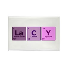 Lacy Rectangle Magnet