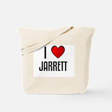 I LOVE JARRETT Tote Bag