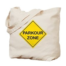 Parkour Zone Tote Bag