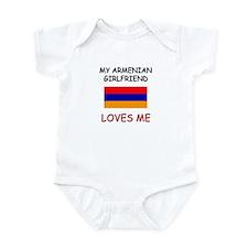 My Armenian Girlfriend Loves Me Infant Bodysuit