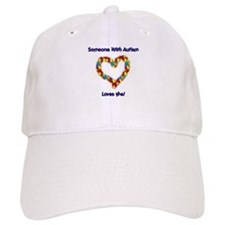 Someone With Autism Loves Me! Baseball Cap