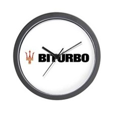 Bi Turbo Wall Clock