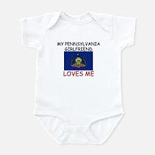My Pennsylvania Girlfriend Loves Me Infant Bodysui