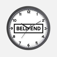 Bell End, UK Wall Clock