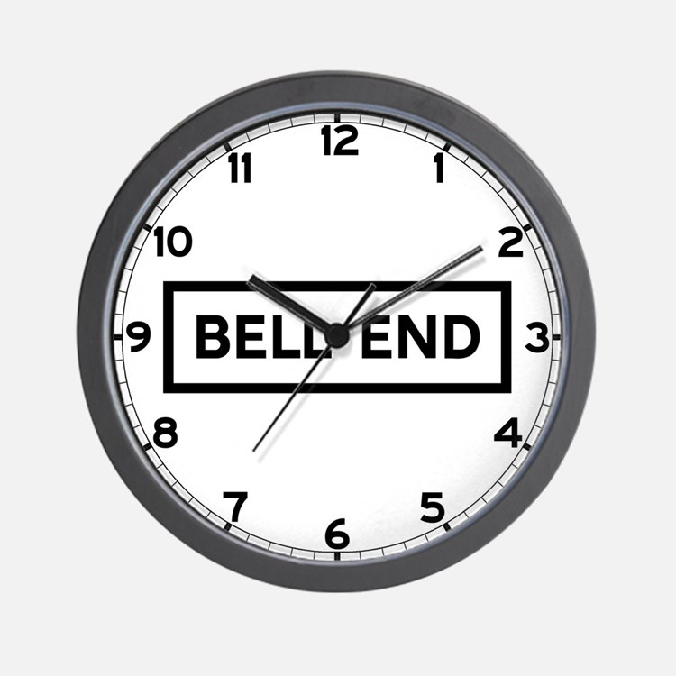 Bell End, UK Wall Clock