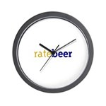 RateBeer Wall Clock