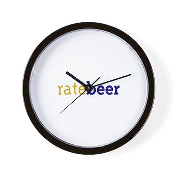 RateBeer Wall Clock