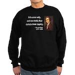 Thomas Paine 18 Sweatshirt (dark)