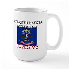 My North Dakota Girlfriend Loves Me Mug