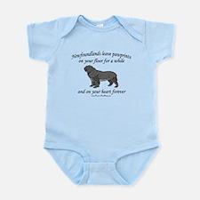 Newfoundland Pawprints Infant Bodysuit