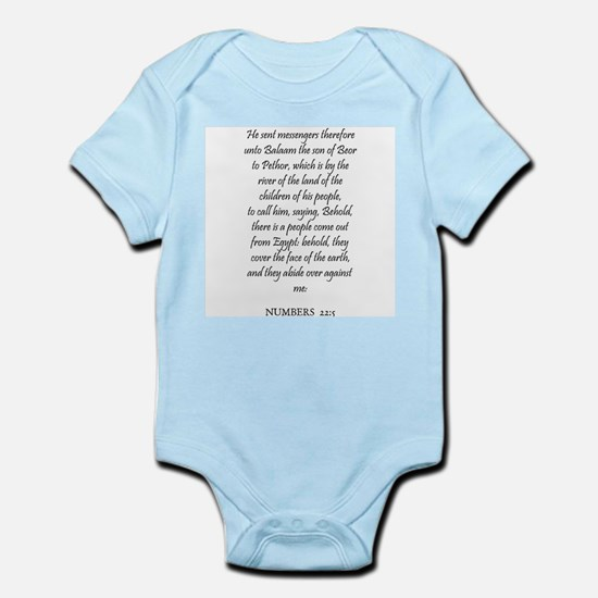 NUMBERS  22:5 Infant Creeper